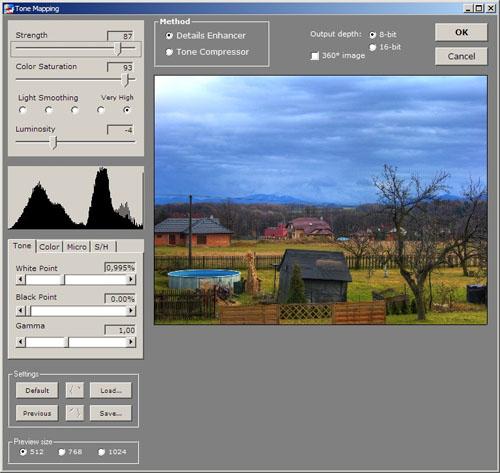 Tutoriál na HDR fotografie