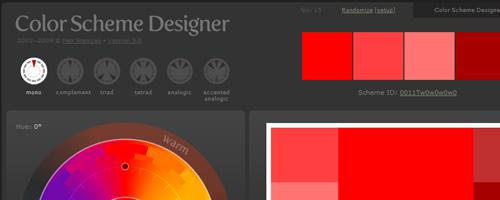 Návrh barevných kombinací a odstínů