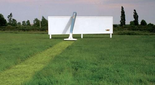 Kreativní a nápadité reklamy