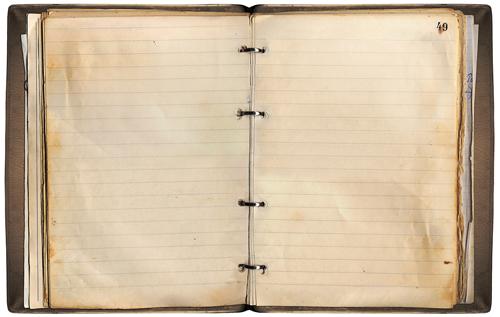 Textura staré knihy