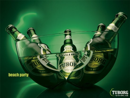 Reklama na Tuborg