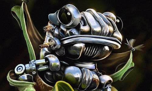 Robotická žába