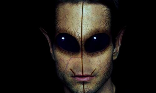 Přeměna člověka na mimozemšťana