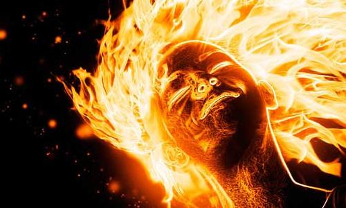 Jak vytvořit hořící efekt